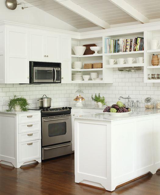 White Kitchen With White Backsplash: Top 5 Kitchen Trends For 2014 By Beasley & Henley Interior