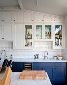 white-and-blue-cabinets